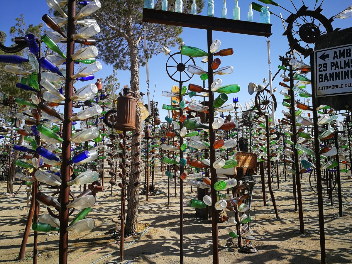 Elmers Bottle Tree Ranch California Route66